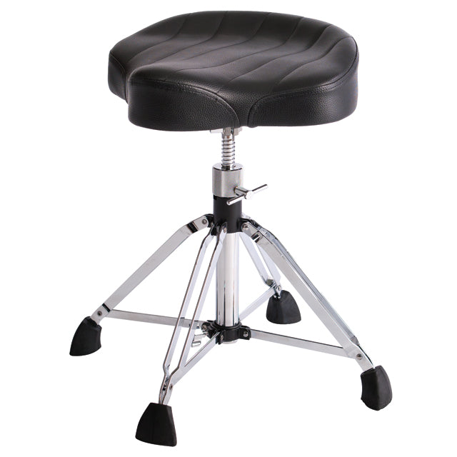 Gibraltar 9908 Drum Throne Stool 4-Post Oversized Motorcucle Style GI9908