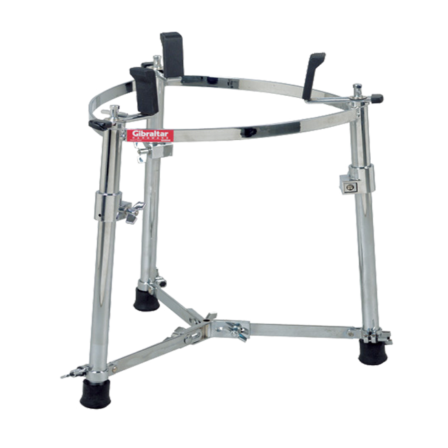 Gibraltar GCS-L Large Single Conga Stand w/ Adjustable Height