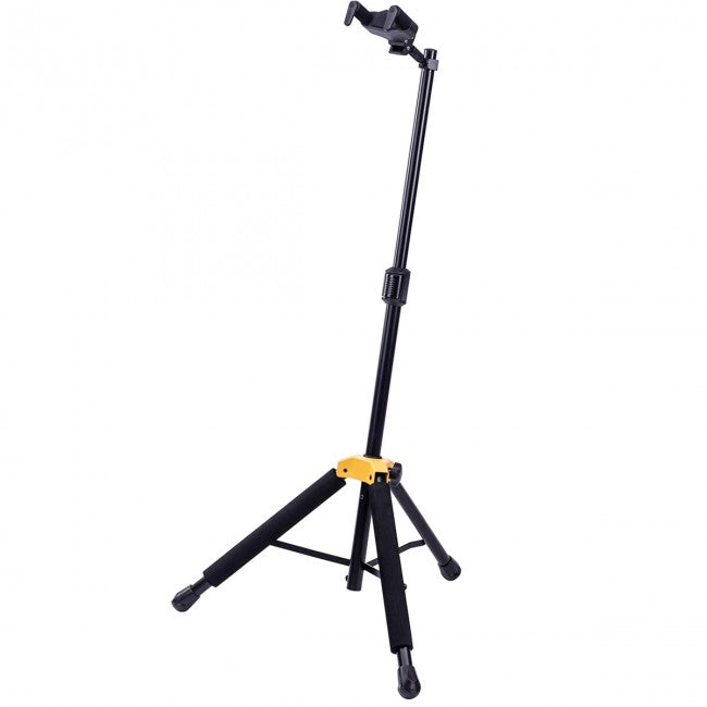 Hercules GS415B PLUS Auto Grip Guitar Stand w/ Foldable Yoke