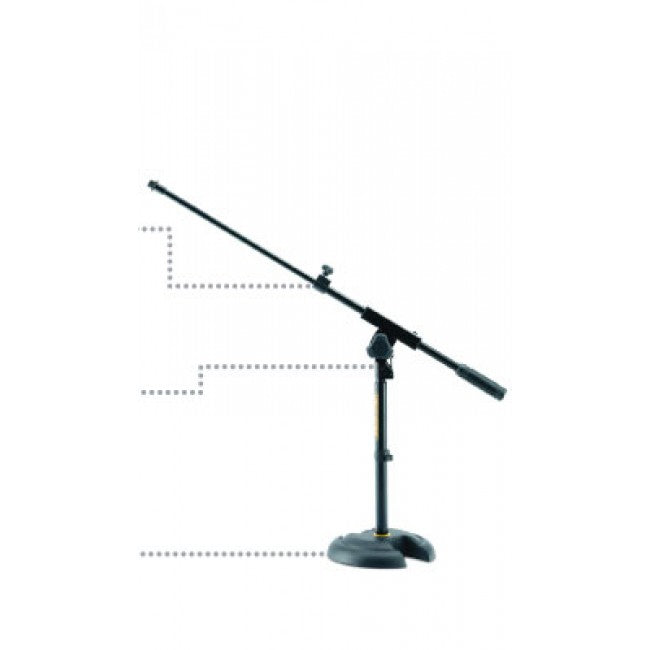 Hercules Low profile H-shaped base Mic