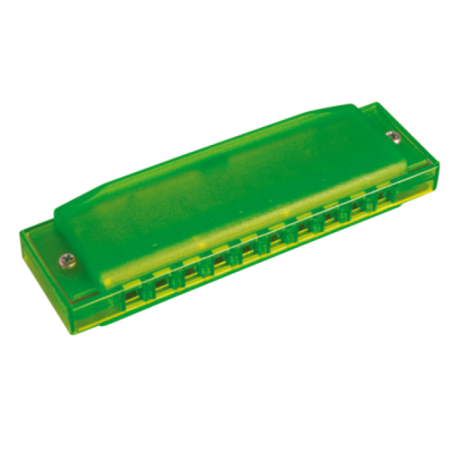 Hohner M91.600 Happy Color Harmonica Green