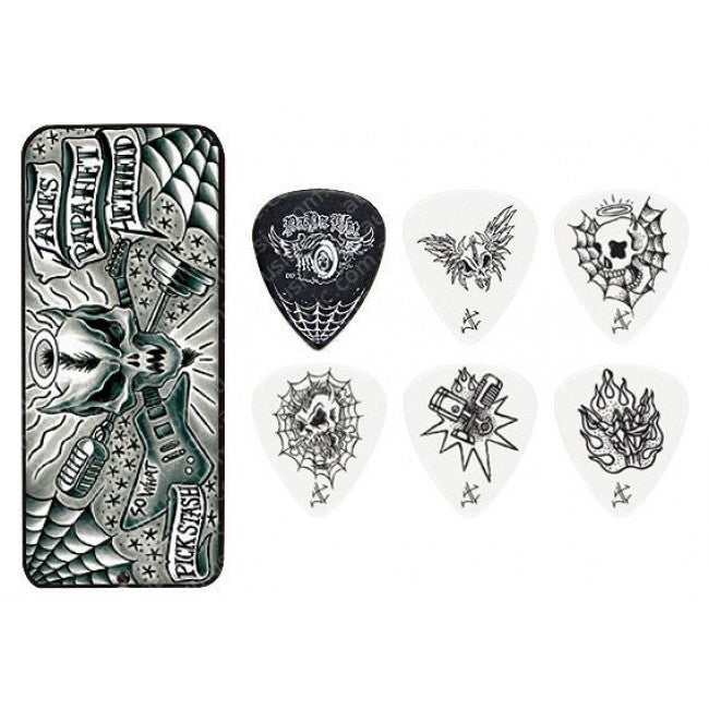 Dunlop James Hetfield Pick Tin Pack 0.88 Signature JSA84