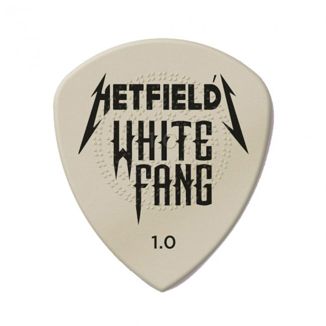 Jim Dunlop James Hetfield 1.0mm White Fang Custom Flow Pick