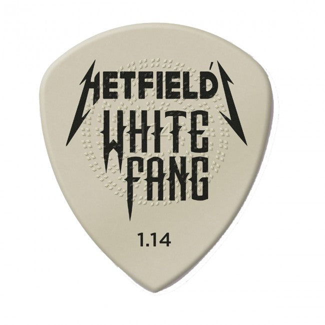 Jim Dunlop James Hetfield 1.14mm White Fang Custom Flow Pick