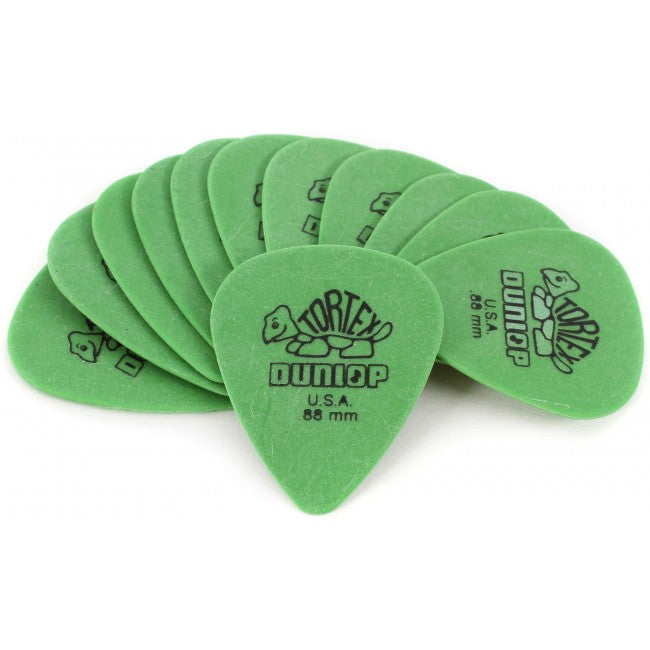 Jim Dunlop .88m Green Picks
