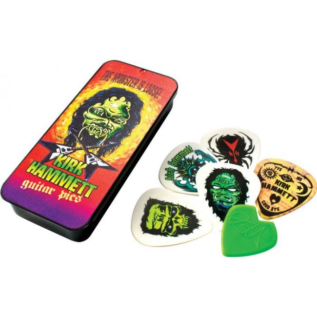 Kirk Hammett Pick Tin-Monster