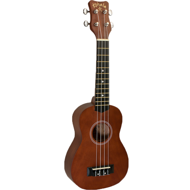 Kohala Akamai Series Soprano Ukulele Natural Satin (No Binding)