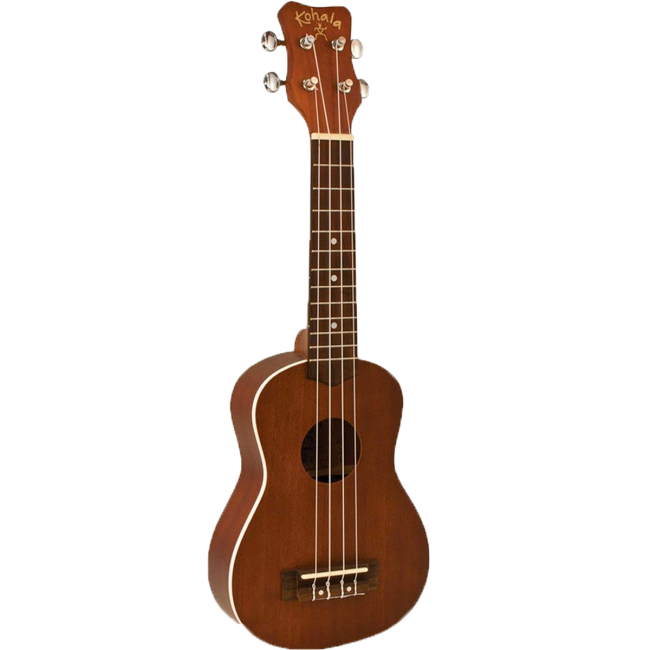 Kohala Akamai Series Soprano Ukulele Natural Satin (with Binding)