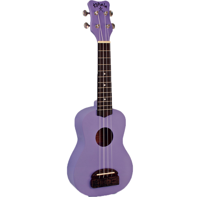 Kohala Series Concert Ukulele Purple Finish Uke