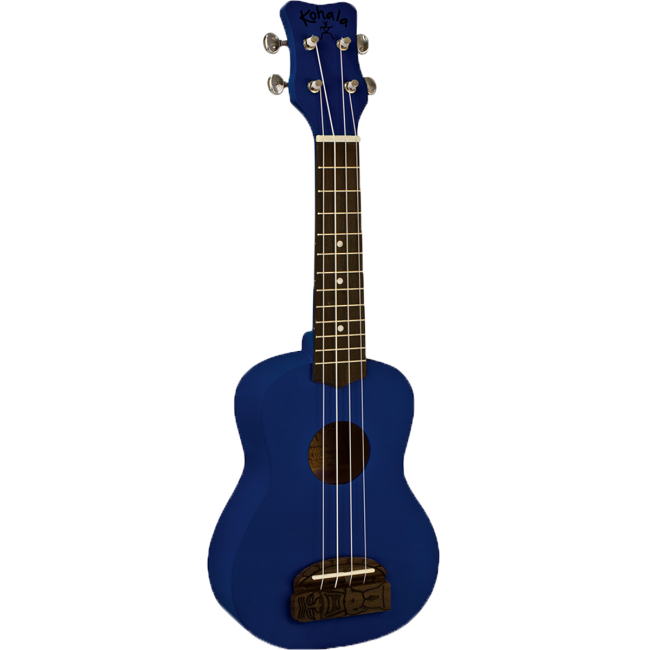 Kohala Series Soprano Ukulele Blue Finish Uke