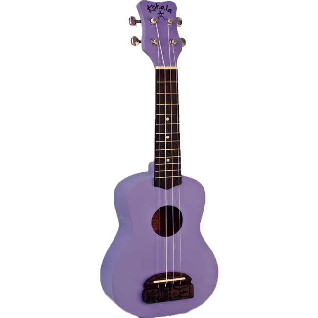 Kohala Series Soprano Ukulele Purple Finish Uke