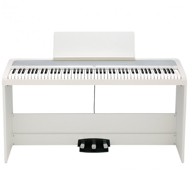 Korg B2-SP Digital Piano w/ Stand & 3 Pedals White