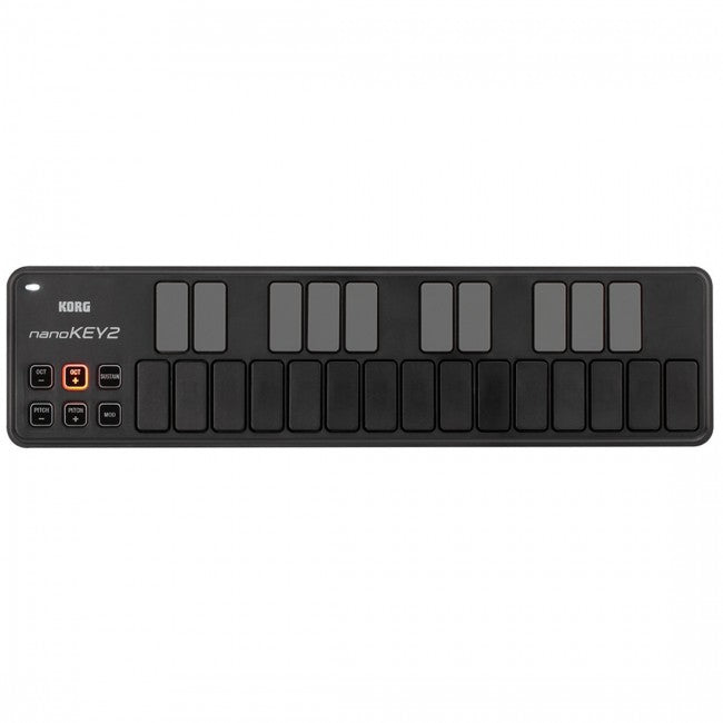 Korg nanoKEY 2 Slim Line USB Keyboard Black