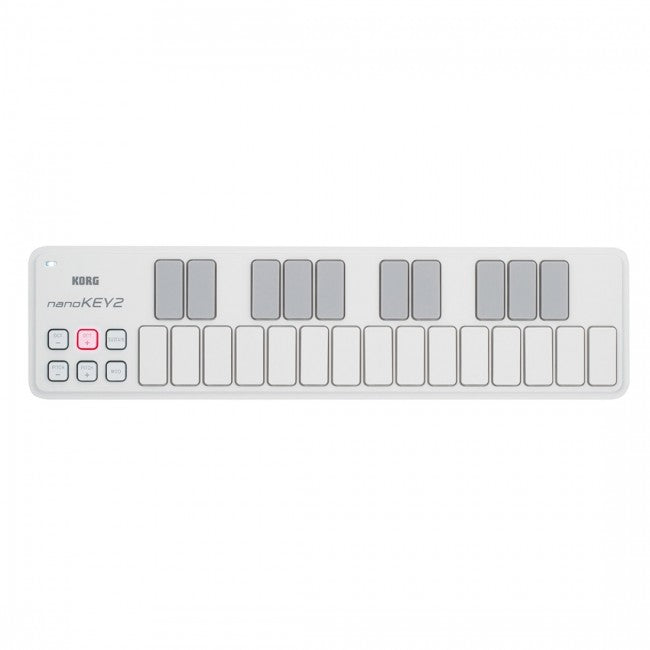 Korg nanoKEY 2 Slim Line USB Keyboard White
