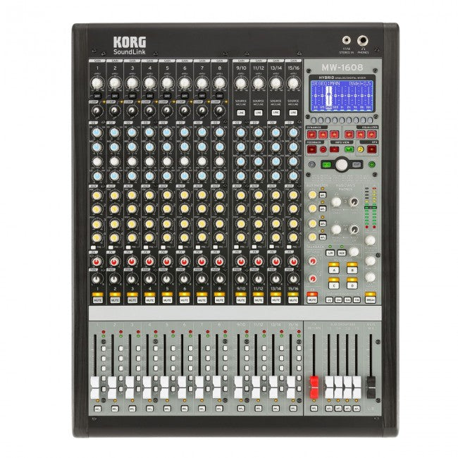 Korg SoundLink MW-1608 Hybrid Analog/Digital Mixer