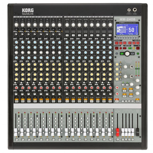 Korg SoundLink MW-2408 Hybrid Analog/Digital Mixer