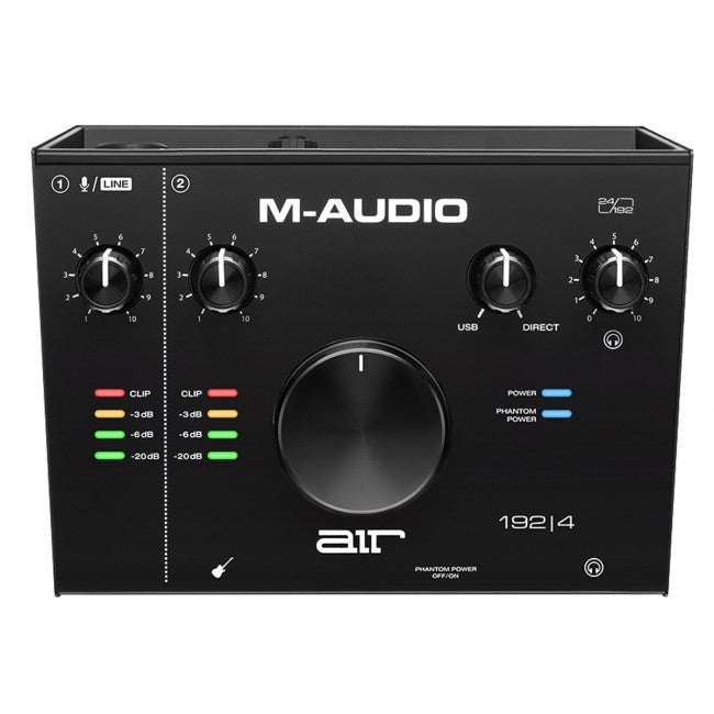M-Audio AIR 192|4 USB Audio Interface 2-In/2-Out 24/192 Input/Output