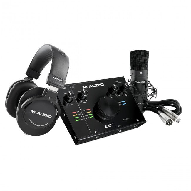 M-Audio AIR 192|4 Vocal Studio Pro USB Audio Interface w/ Microphone & Headphones