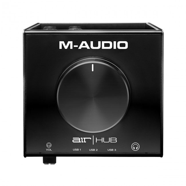 -Audio AIR|HUB USB Monitoring Interface w/ Built-In 3-Port Hub