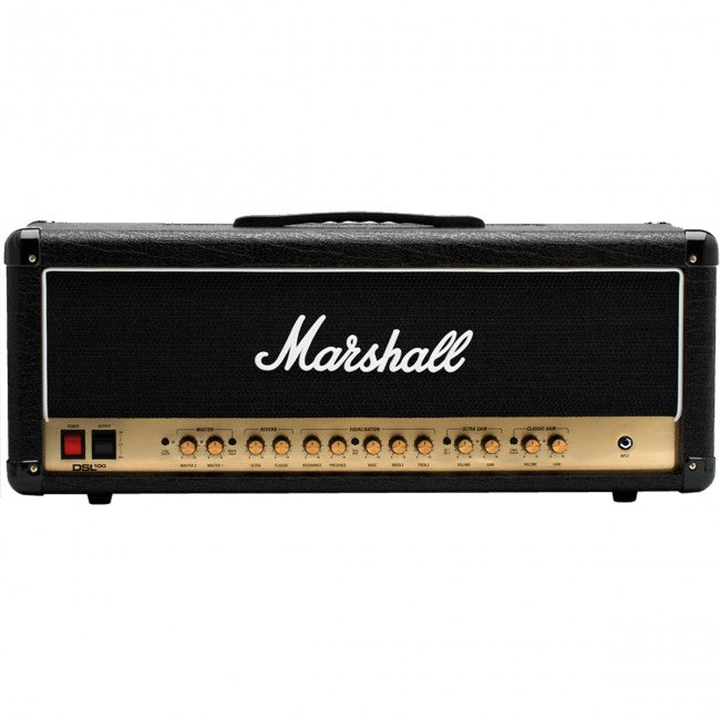 Marshall DSL100 Guitar Amplifier Head Valve Amp 100W