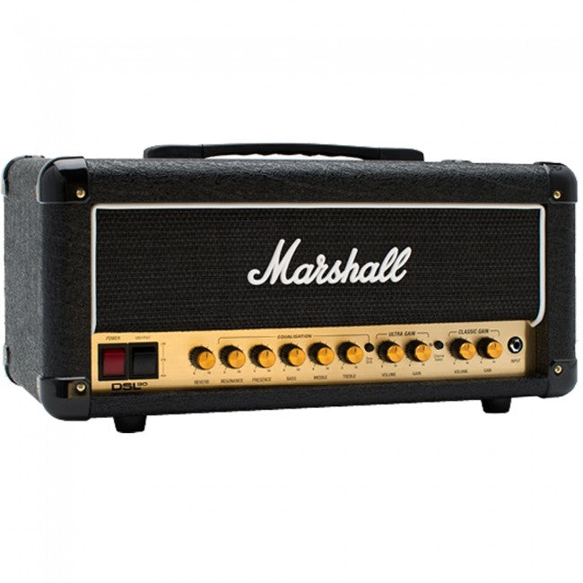Marshall DSL20 Guitar Amplifier Head Valve Amp 20W DSL-20