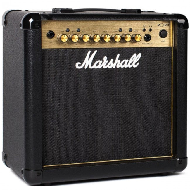Marshall MG15GFX Guitar Amplifier Combo 15W - NEW MG GOLD SERIES