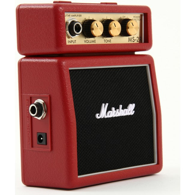 Marshall MS2R Micro Amp Red Stack Amp 1 Watt Amplifier