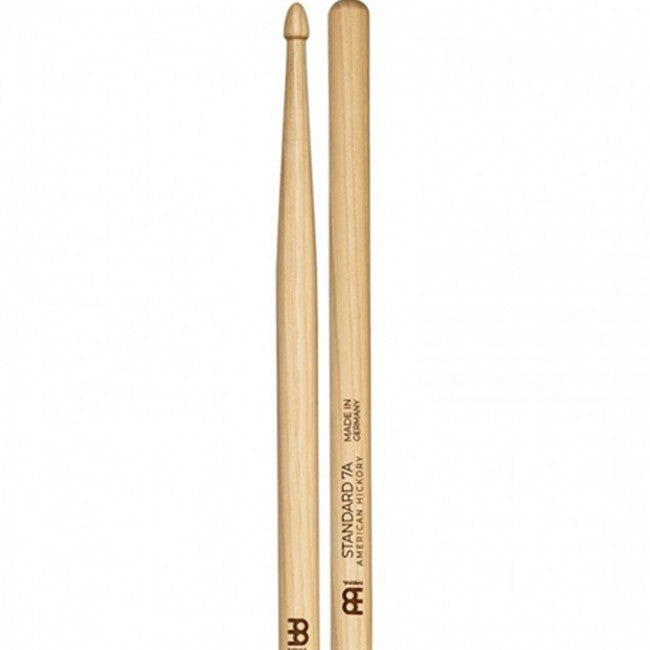 Meinl 100 Standard 7A Wood Tip Drum Sticks