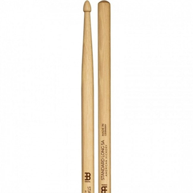 Meinl 103 Standard Long 5A Wood Tip Drum Sticks