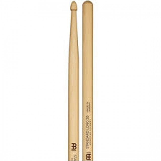 Meinl 104 Standard Long 5B Wood Tip Drum Sticks