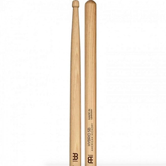 Meinl 107 Hybrid 5B Wood Tip Drum Sticks