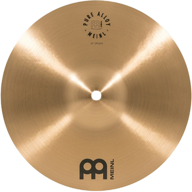 Meinl 10S Pure Alloy 10inch Splash Cymbal