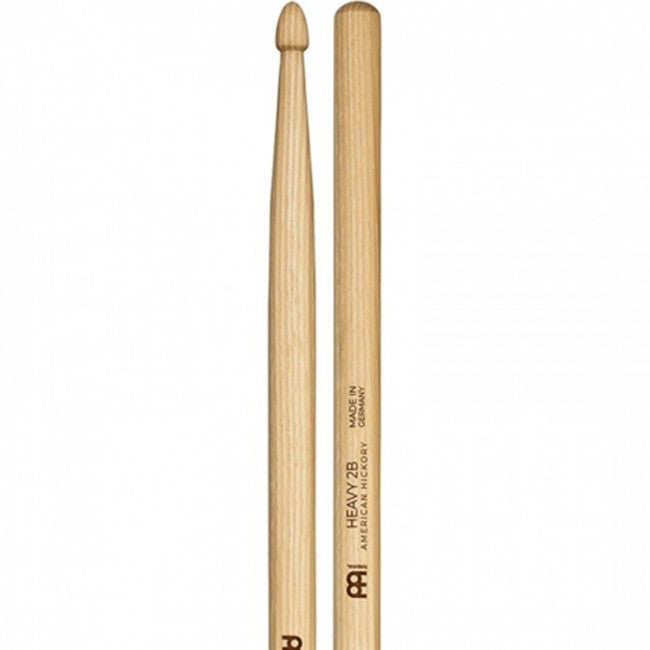 Meinl 110 Heavy 2B Wood Tip Drum Sticks