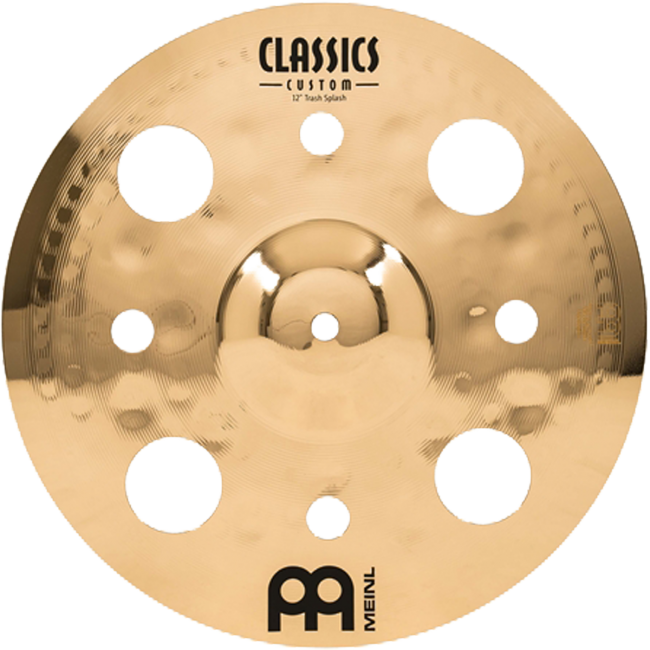 Meinl CC12TRS-B Classics Custom Brilliant 12inch Trash Splash Cymbal
