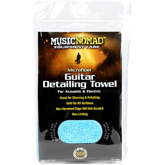 Music Nomad MN202 Microfiber Guitar Detailing Towel 12x16inch