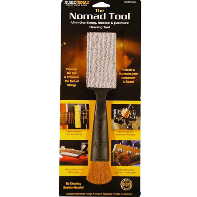 Music Nomad MN205 The Tool All-In-One String, Surface & Hardware Cleaning Tool