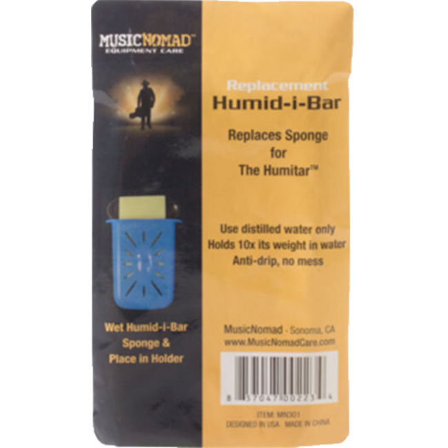 Music Nomad MN301 Replacement Humid-i-Bar Sponge for the Humitar Humidifier