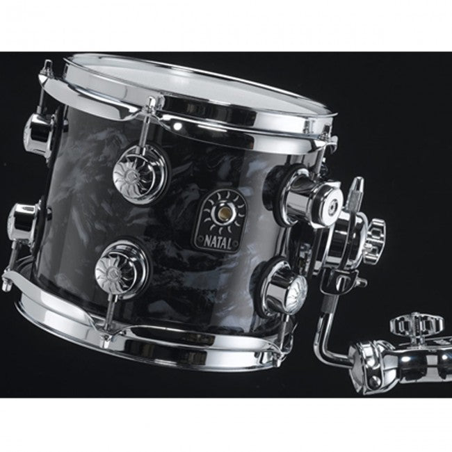 Natal Ash Drum Kit Black Swirl