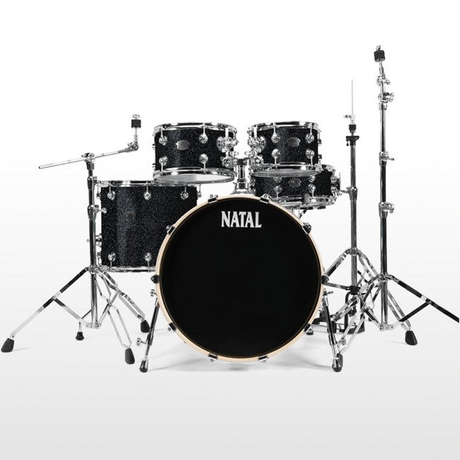 Natal Arcadia Drum Kit Transparent Black