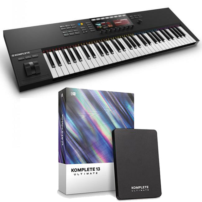 Native Instruments Komplete Kontrol S61 MK2 + Komplete 13 Ultimate Software