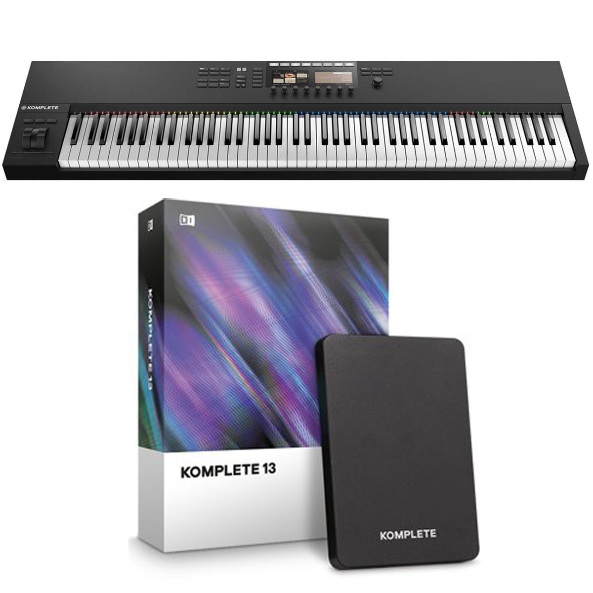 Native Instruments Komplete Kontrol S88 MK2 + Komplete 13 Software