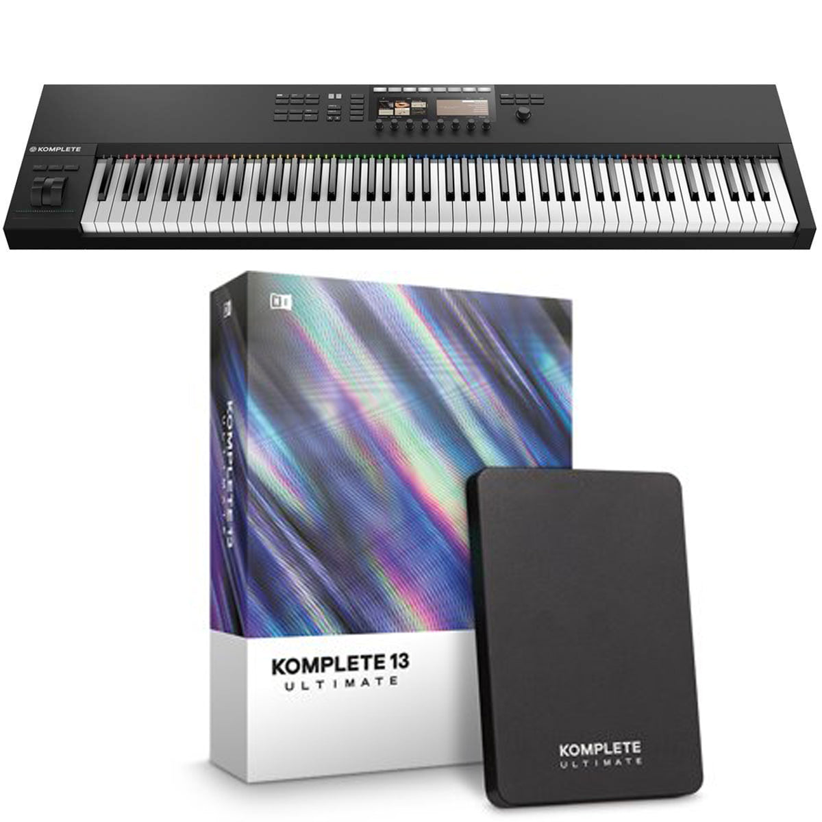 Native Instruments Komplete Kontrol S88 MK2 + Komplete 13 Ultimate Software
