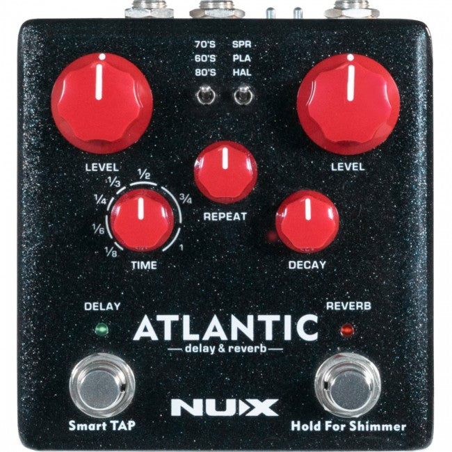 NU-X Atlantic Delay & Reverb Pedal