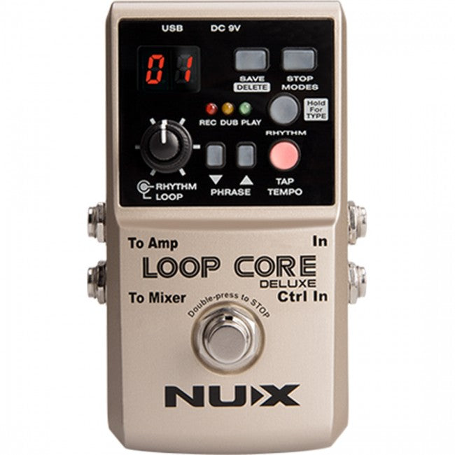 NU-X Loop Core Duluxe 24-bt Pedal