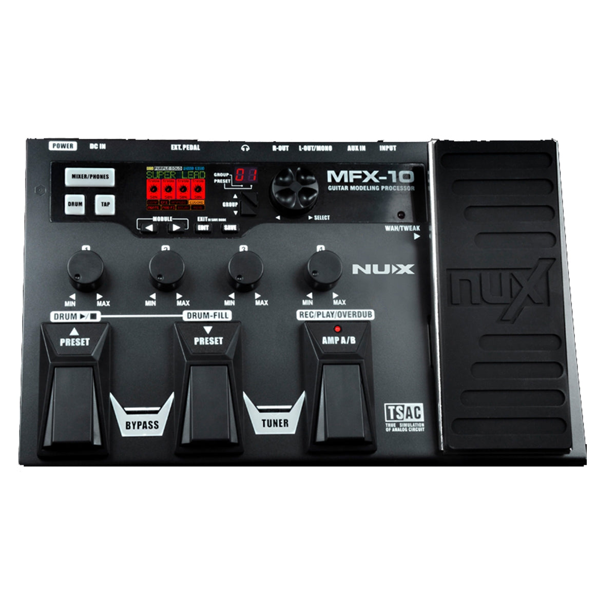 NU-X MFX-10 Guitar Modelling Multi-Effects Processor