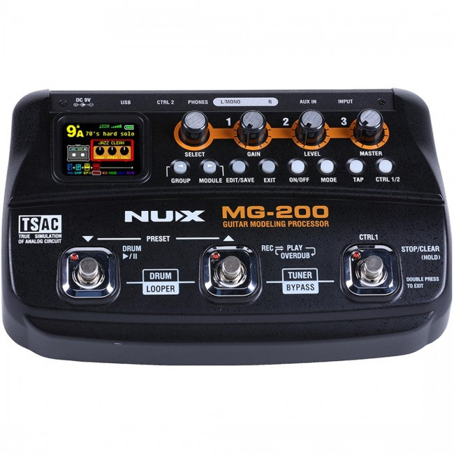 NU-X MG-200 Guitar Modelling Processor