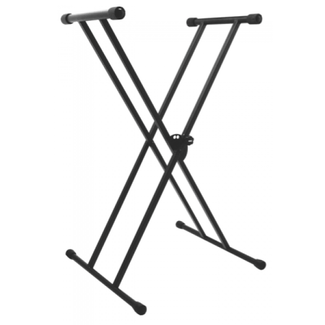 ONSTAGE KS7191W DOUBLE X KEYBOARD STAND