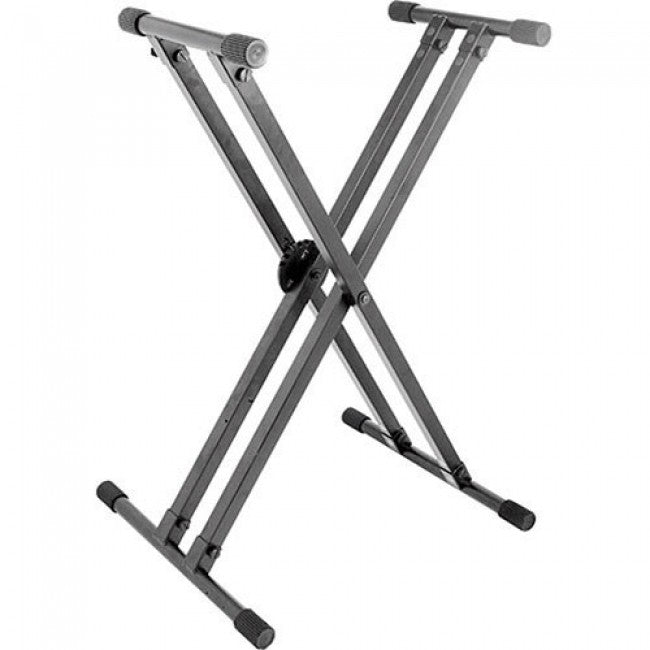On-Stage KS8291 Heavy Duty Double-X Keyboard Stand