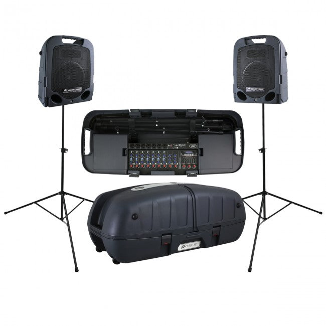 Peavey Escort 6000 Portable PA System 9-Channel 600w