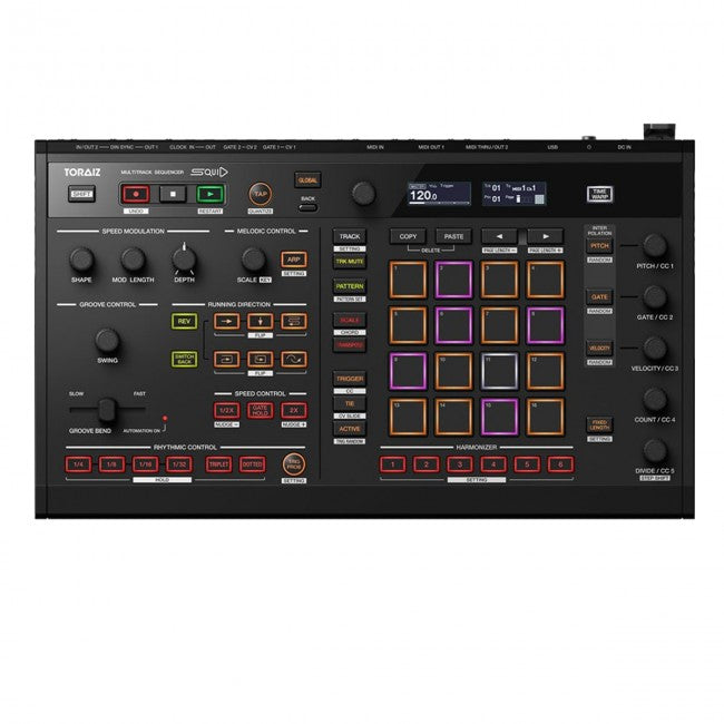 Pioneer Toraiz Squid Professional Sequencer Multitrack
